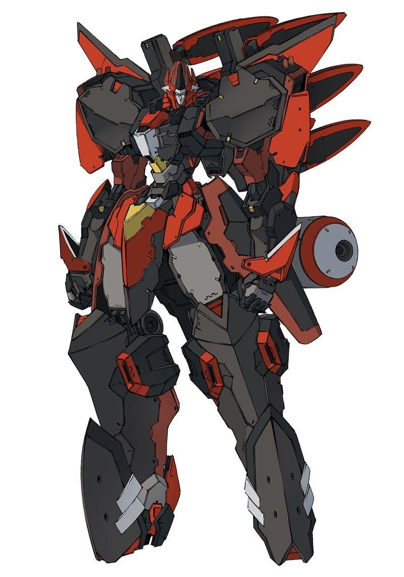 Latest 800 1141 Mecha Anime Character Design Robot Concept Art