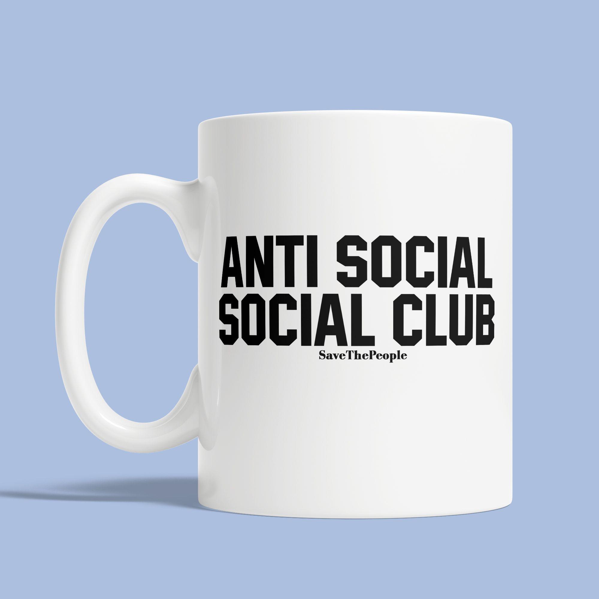 nice Anti Social Social Club Mug