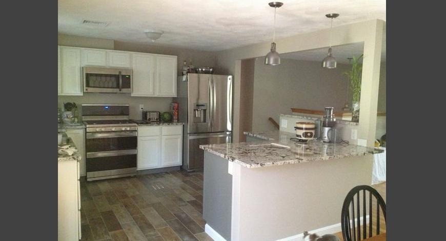 Billerica Kitchen Upgrade Fresh Start Contracting Kitchen Upgrades Living Room Kitchen Kitchen