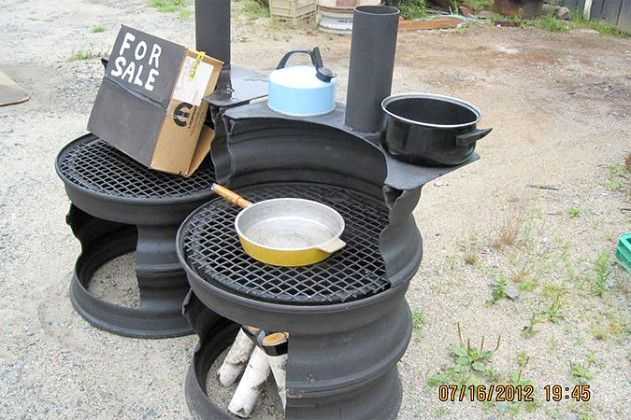 Truck Rim Fire Pit Ideas | The artful bodgers | Fire Pits and Such ...