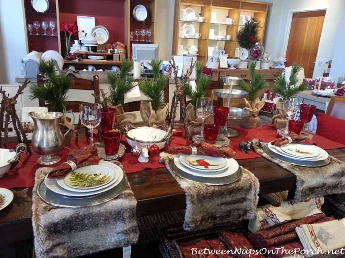Thanksgiving Christmas Tablescapes With Pottery Barn Dinner Table Settings