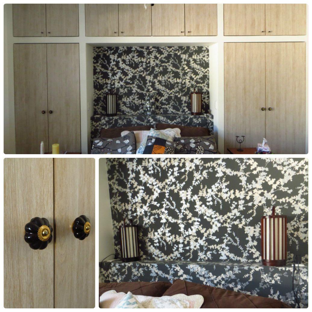 Mueble almacenaje dormitorio cabecero wallpaper bedroom - Almacenaje dormitorio ...