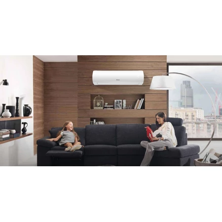 Gree Sap12hp230v1a 12 000 Btu 30 5 Seer Sapphire Wall Mount Ductless Split Ac Heat Pump 208 230v Ductless House Essentials Wall Mounted Air Conditioner
