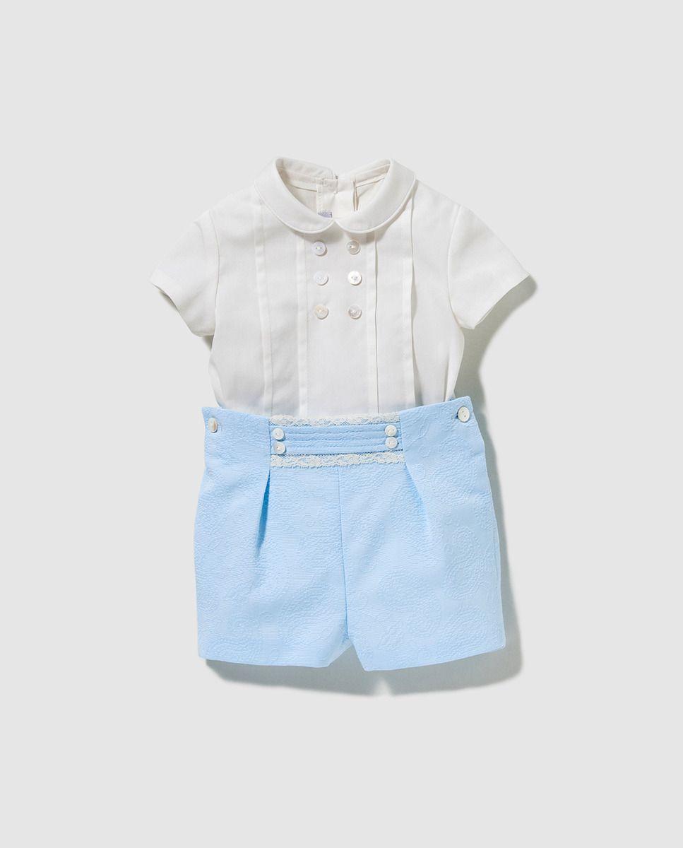 d44365d33 Conjunto de bebé niño Dulces dos piezas | Vestits xiquets | Niño ...