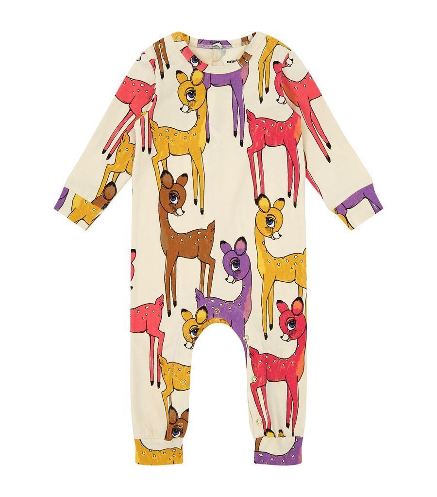 Mini Rodini Deer Bodysuit   Harrods
