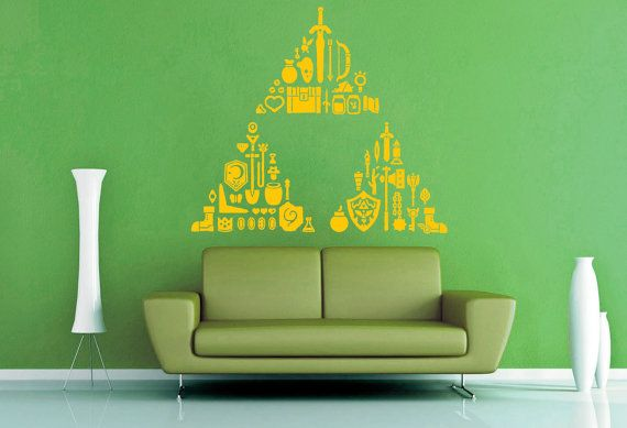 7 Inspiring Kid Room Color Options For Your Little Ones: Wall Vinyl. $34.95, Via