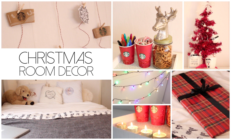 christmas room decor - Google Search
