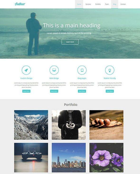 37 Free Responsive Html5 Css3 Website Templates Graphics Webdesign