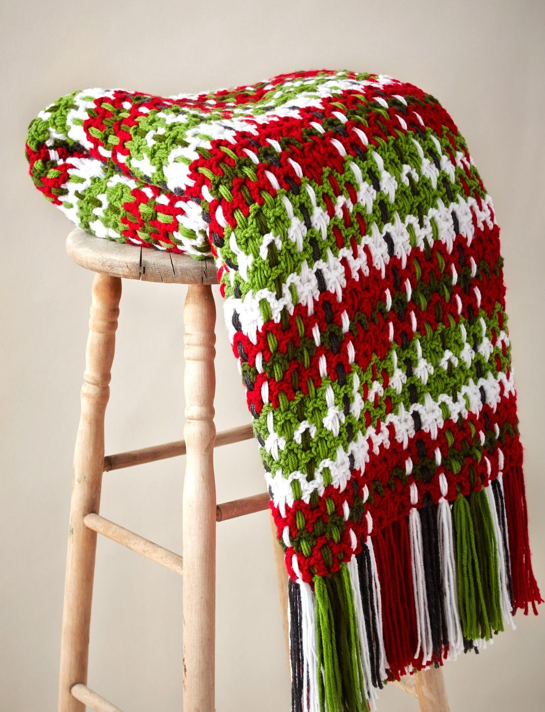 Woven Plaid Blanket | Crochet Blankets | Pinterest | Manta ...