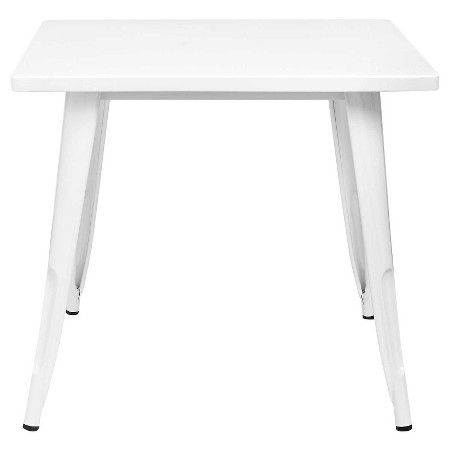 Industrial Kids Activity Table Campanula White Pillowfort