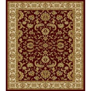 Home Dynamix Bazaar Emy Red Ivory 5 Ft 2 In X 7 Area Rug Discontinued Hd2586 215 The Depot