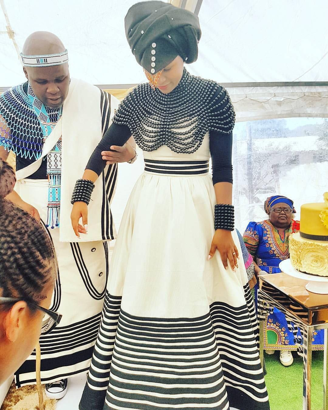 marvellous xhosa wedding outfit