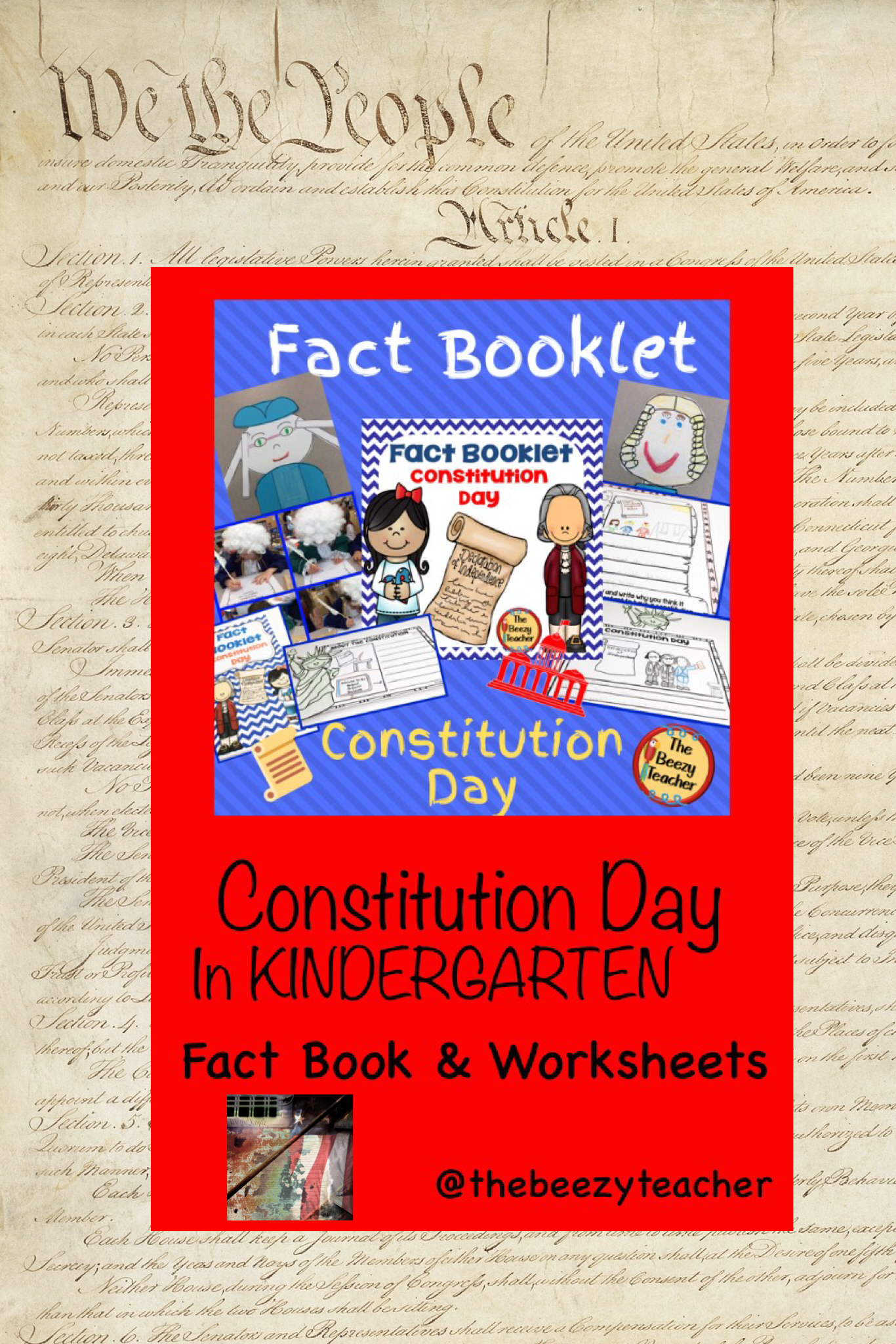 Constitution Day Fact Booklet