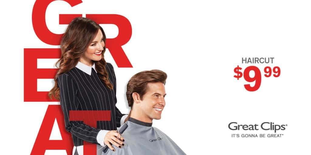 9 99 Great Clips Coupon Great Clips Coupons Haircut Coupons Great Clips Haircut