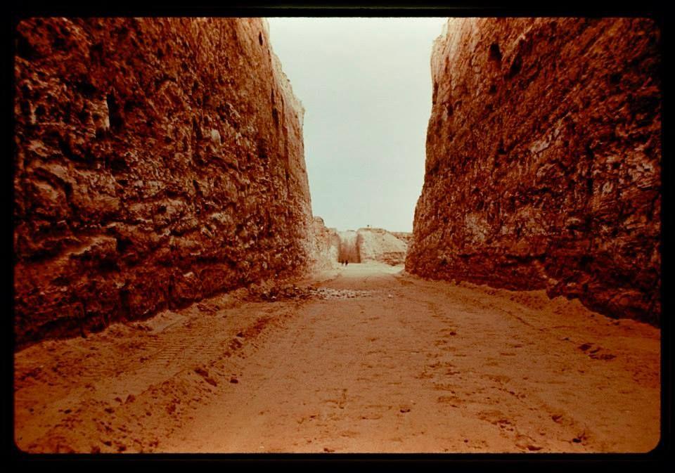 Michael Heizer 'Double Negative' 196970 Land art