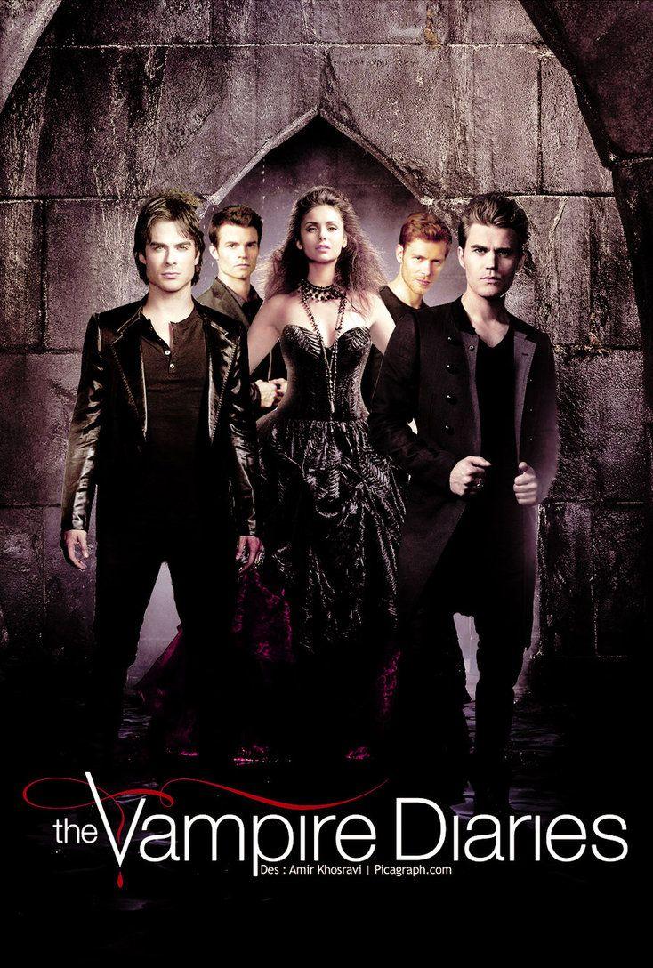 The Vampire Diaries Hd Desktop Wallpaper Widescreen High Vampire Diaries Seasons Vampire Diaries Wallpaper Vampire Diaries