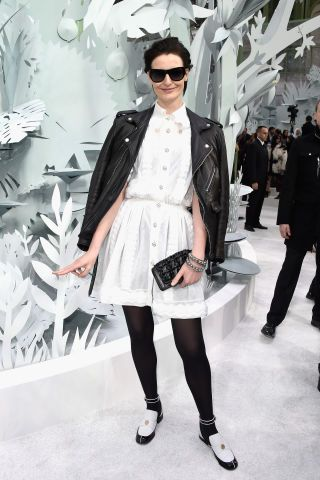 See all the best-dressed guests from Chanel's Spring 2015 Couture show: