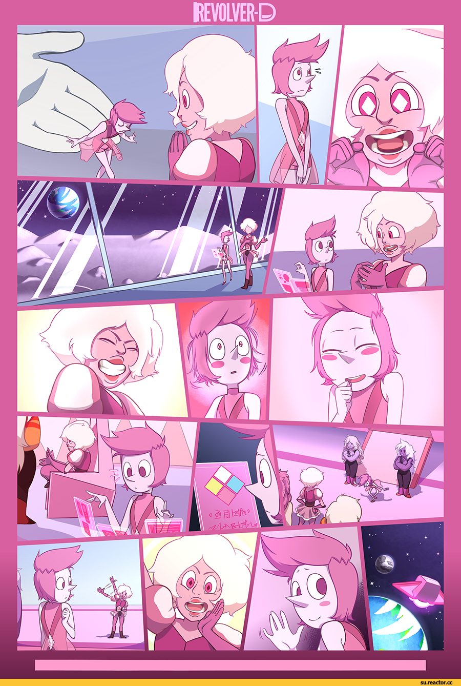 youtube dub yellow universe steven au comic diamond watch