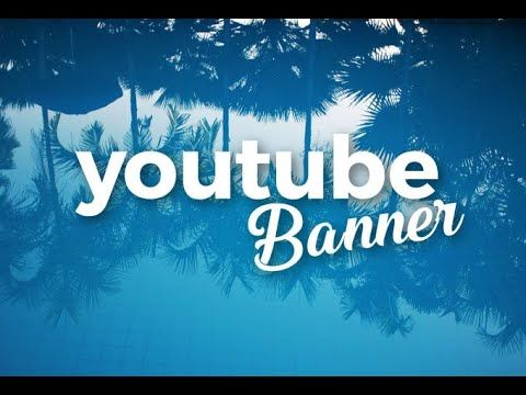 I will design you a youtube banner