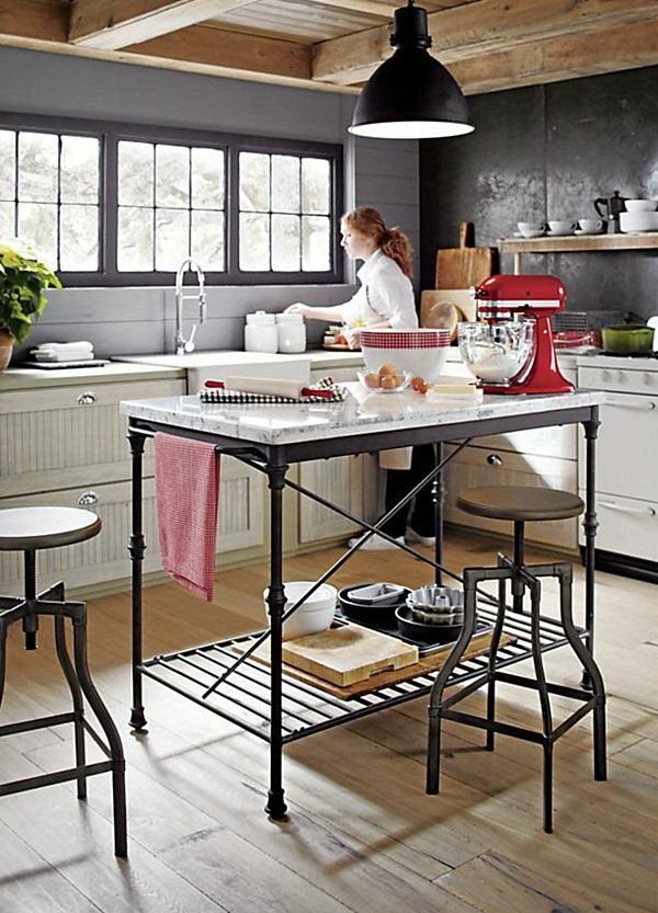 French kitchens Kitchen islands and Crates on Pinterest
