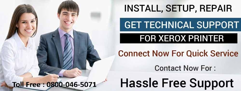 Xerox Help Number Uk 0800 046 5071 Printer Connection Face