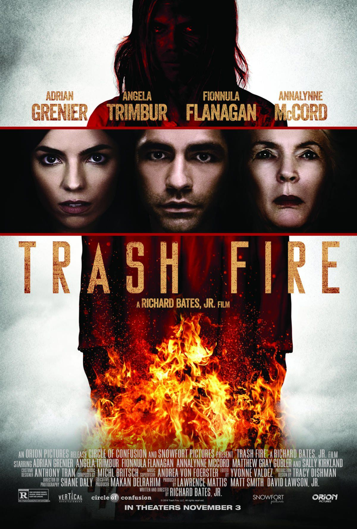 Trash Fire - Upcoming Horror Movie: Richard Bates Jr.'s Trash Fire (2016) releases in movie theaters this upcoming November… #Movie #Horror