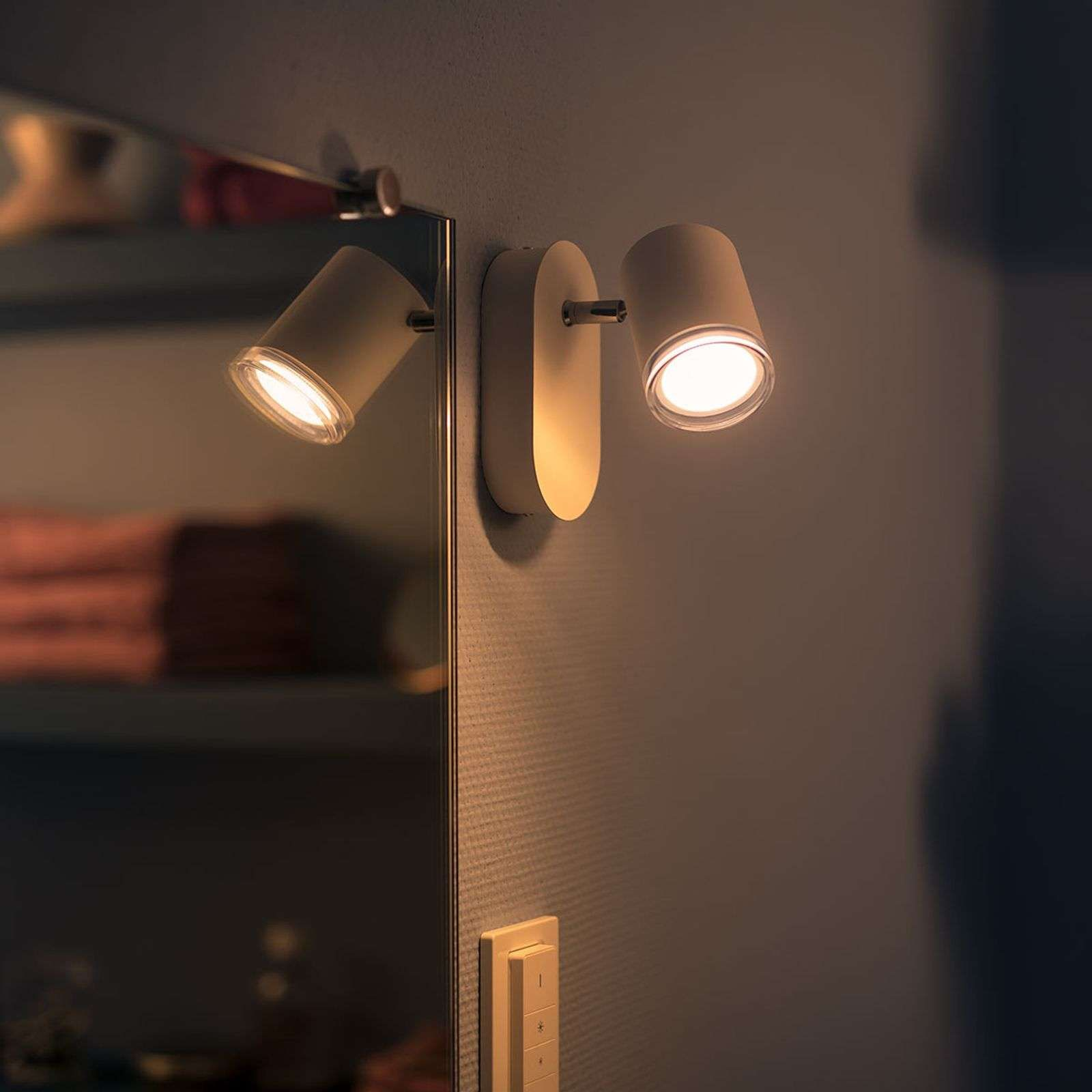 Philips Hue White Ambiance Adore Spot Led Di Philips Hue Led