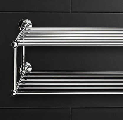 Rh S Train Racks Browse Restoration Hardware S Collection Of Bath