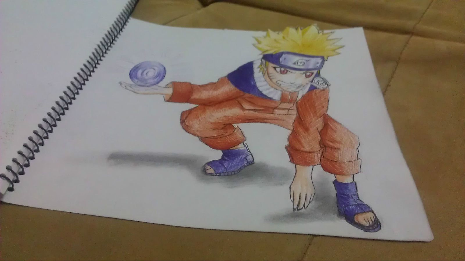 Naruto 3d painting 3d drawings naruto graffiti graphite graffiti artwork