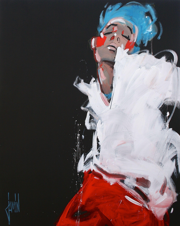 acrylique sur toile de David Jamin en 2020   Peintre david, Tableau peinture, Artiste peintre