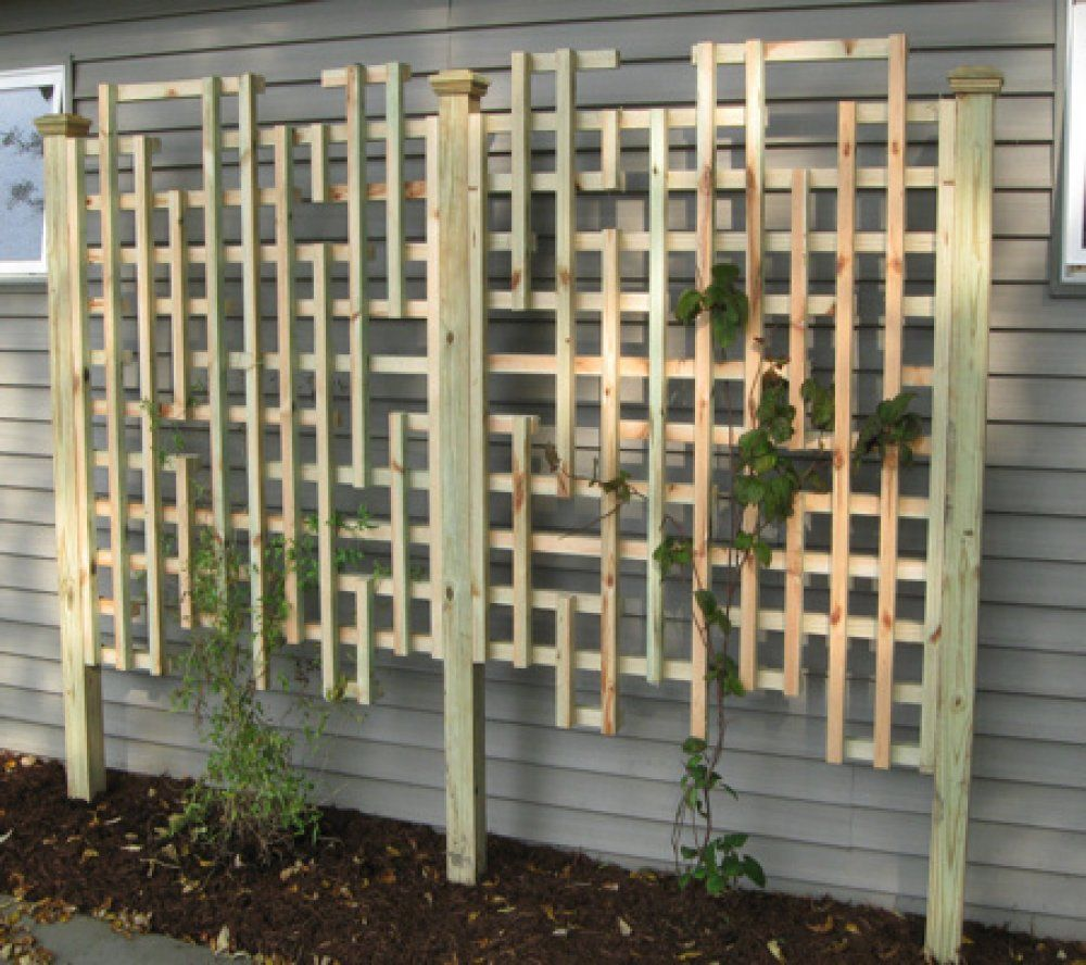 Trellis Panel Pictures and Ideas Denniss garden Pinterest