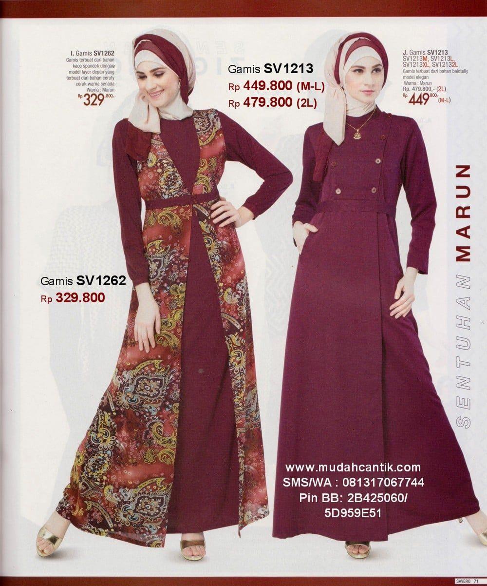 Model Gamis Batik Untuk Umur 50 Keatas Gaun Formal Panjang Gaun Lengan Panjang Model Pakaian