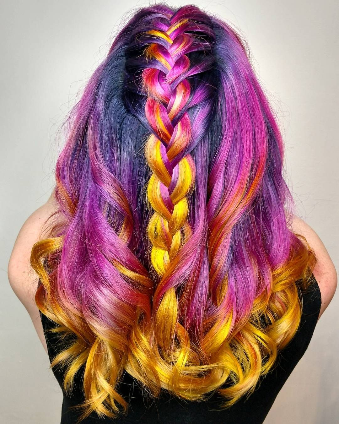 Hawaiian tropic sunset hair pulpriothair pulpriot