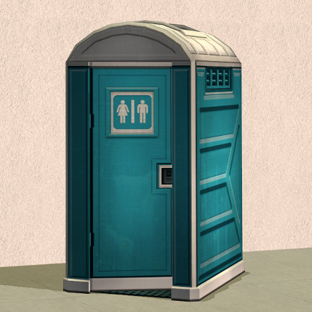 Sims 3t2 Porta Potty