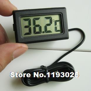 Купить товар1 шт. жк цифровой электронный термометр встроенный измерение температуры с 1 м водонепроницаемый измерения температуры в категории Водомерына AliExpress.       Особенности: Цифровой ЖК-термометр для аквариума морозильник H155 Новый Моделирование простой, элегантный, Ж