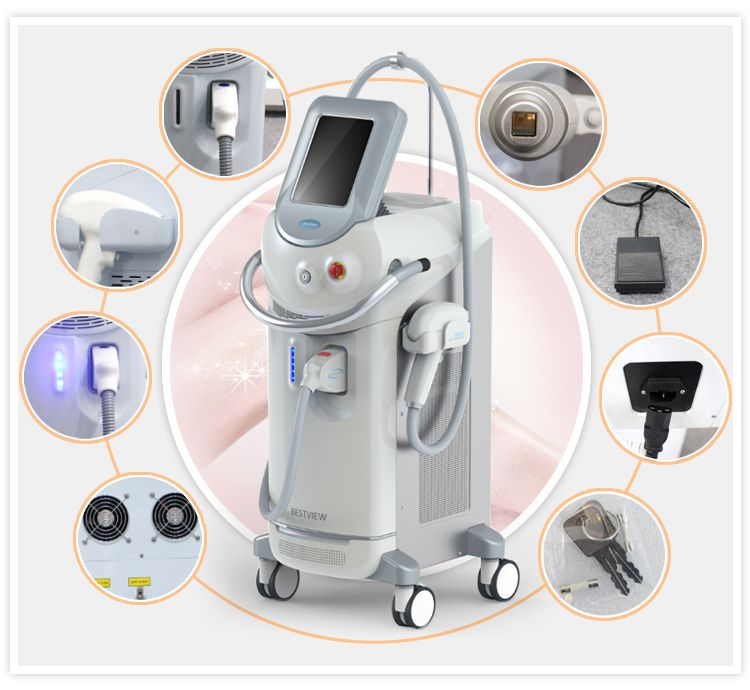 Diode Laser Hair Removal Machine Features Advantages 1 808nm