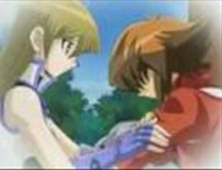 Alexis Concerned For A Brokem Jaden Yugioh Yugioh Yami Anime