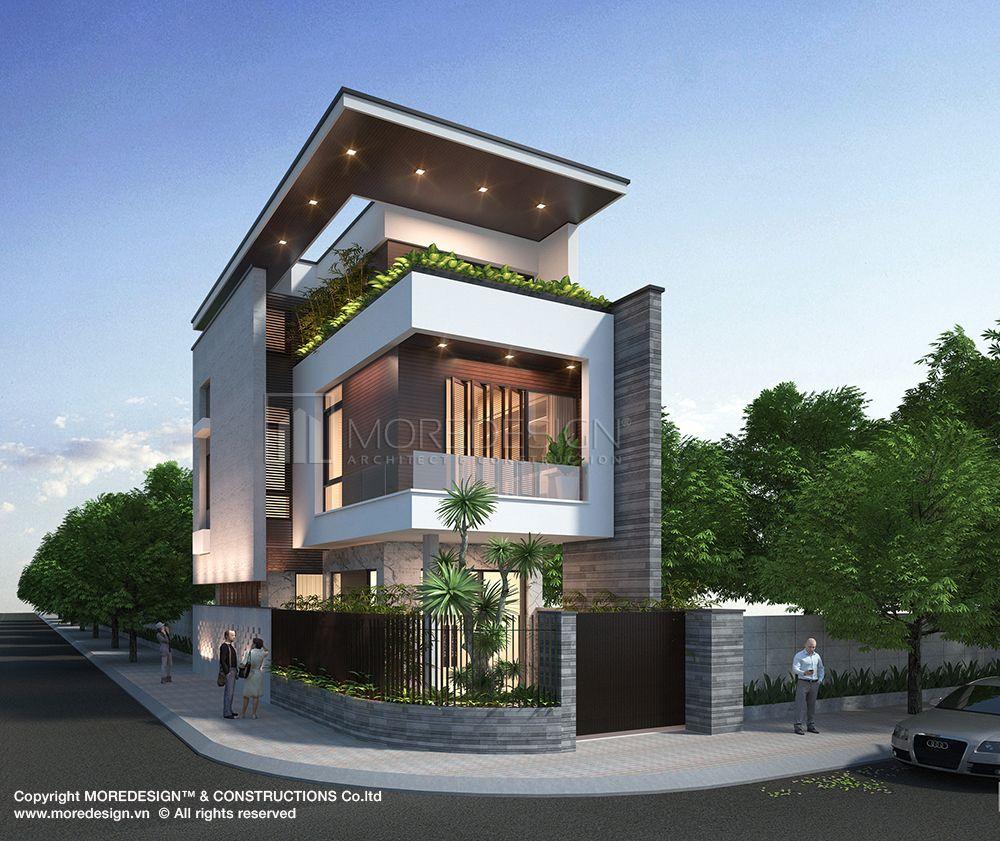 Công trình thiết kế nhà phố 3 tầng địa điểm quận 6 tp hcm diện tích 6x18m nội dung liên