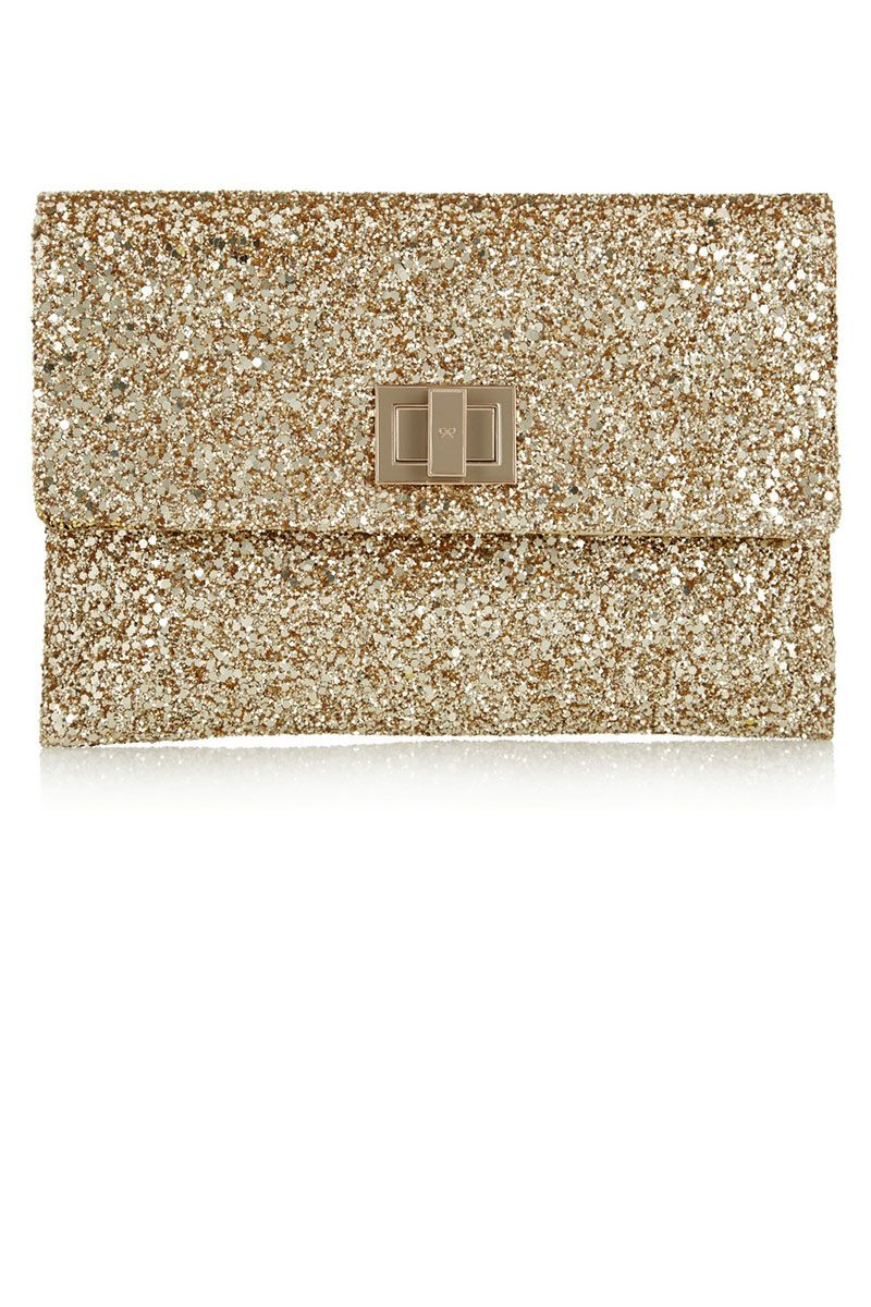 0209eebd82 14 Gold Clutches to Wear This Holiday Season | Pinterest | Anya ...