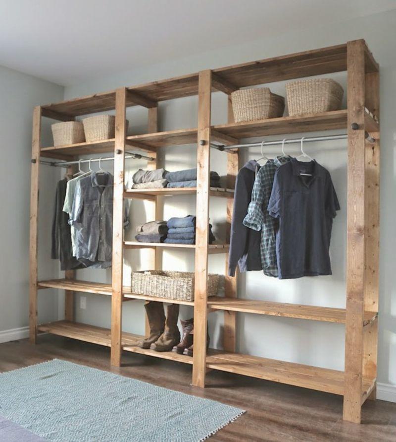 regal aus paletten 51 budget freundliche diy ideen vielfalt statt zusammen gefaltet. Black Bedroom Furniture Sets. Home Design Ideas