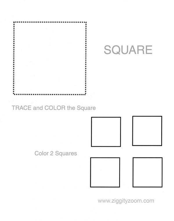 Shapes worksheet Square – Square Worksheets