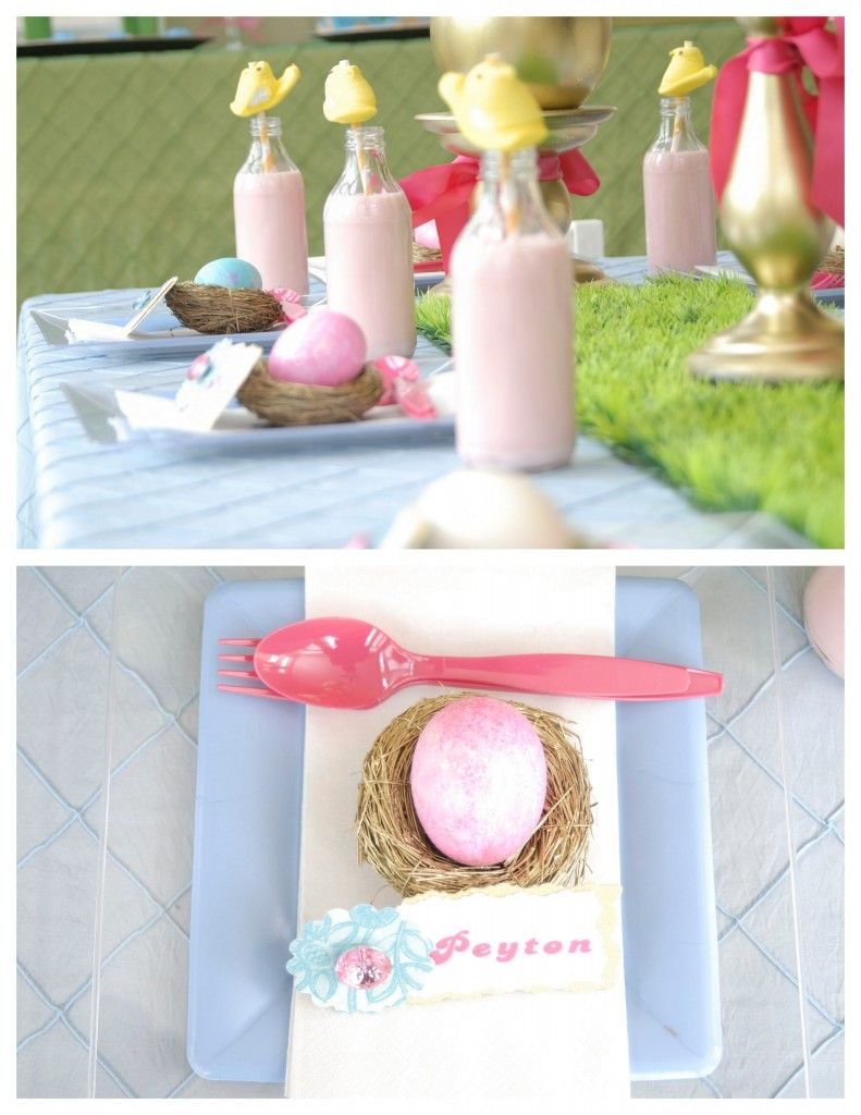 Kid Easter Party Ideas...Love this!