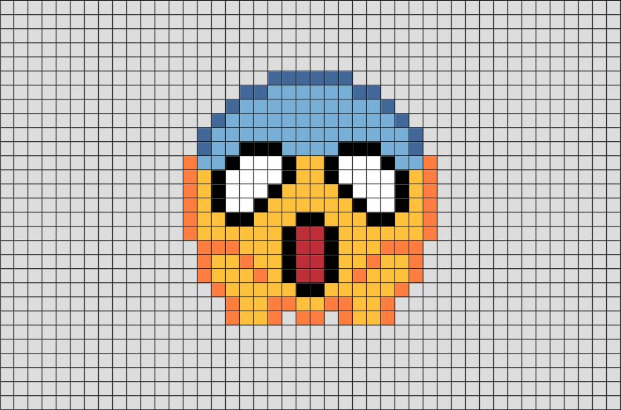 Emoji Pixel Art Dessin Carreau Pixel Art Pokemon Et