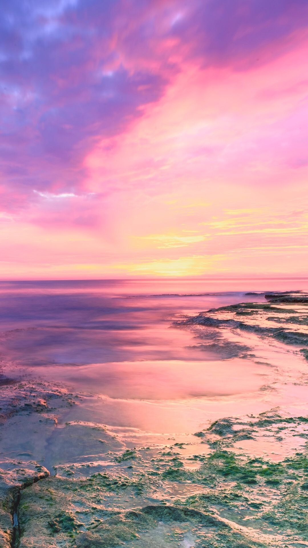 Wallpapers Pretty Beach Nature Sea Ocean World Music Sunset Sunrise Pink Instagram Beach Sunset Wallpaper Sunset Iphone Wallpaper Sunset Wallpaper
