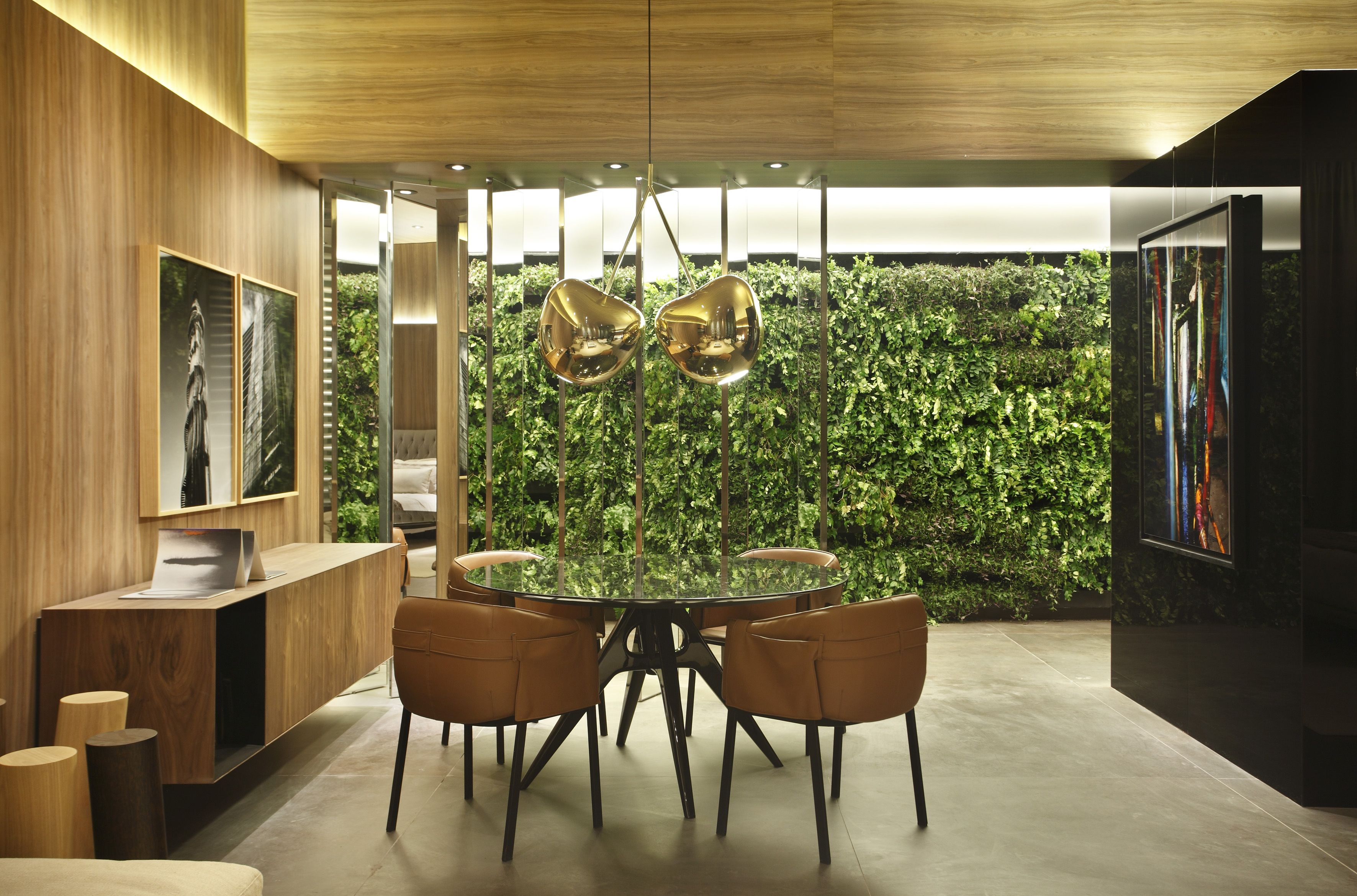 Loft Cosmopolita Na Casa Cor Rio De Janeiro Living Wallsgreen