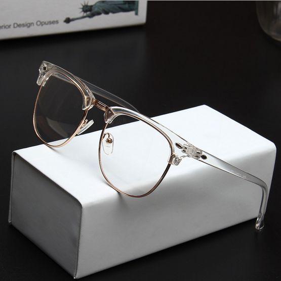 fac67be72ae 2016 Wholesale Men Brand Design Vintage 3016 Transparent Eyeglasses Frame  Women Myopia Optical Reading Glasses Frame