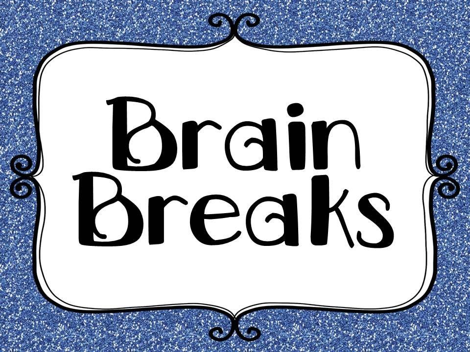 Brain Break ideas to help keep those kiddos engaged.