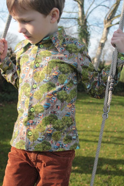 Zonen09 Theo shirt by Paspelpoes An
