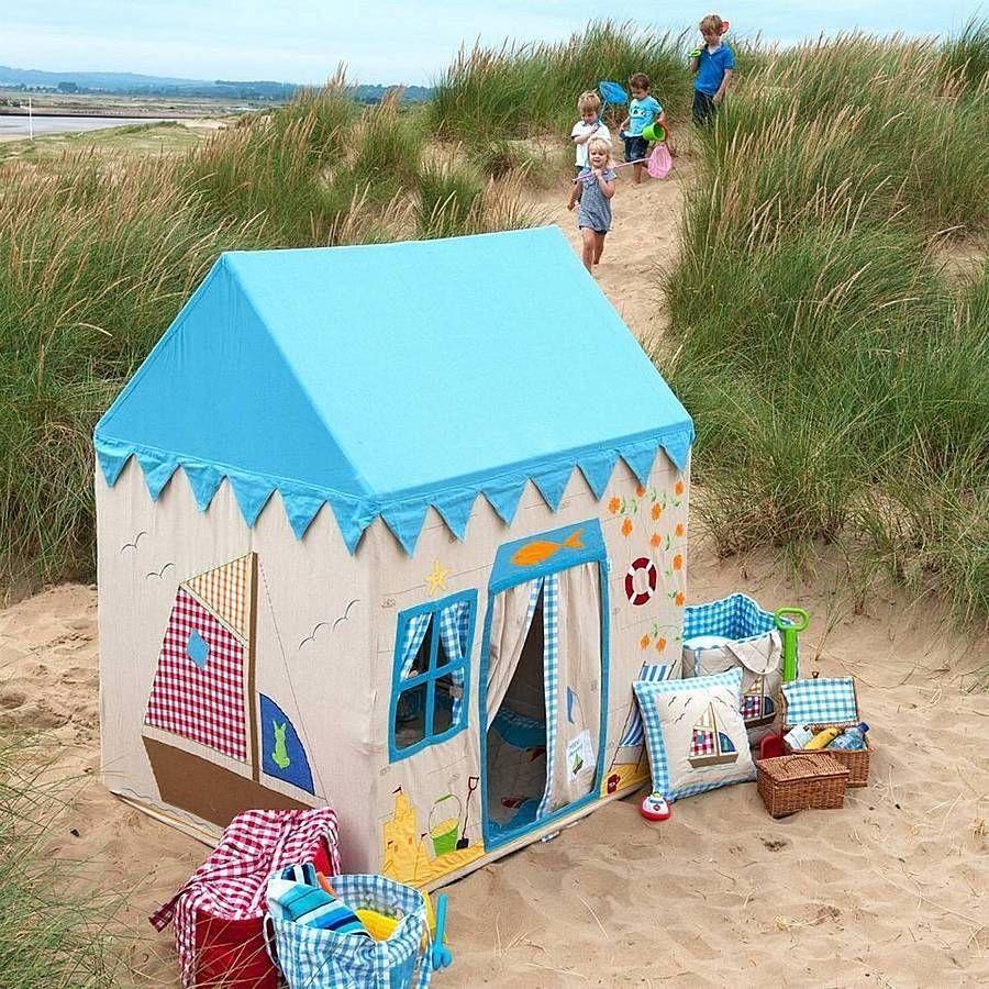 beach house playhouse by let's play shop | notonthehighstreet.com