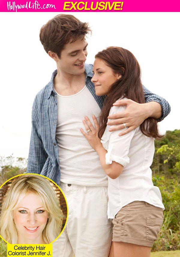 Breaking Dawn Hair Colorist Explains Kristen Stewart S Shade Gives You Tips Twilight Edward Twilight Pictures Twilight Breaking Dawn